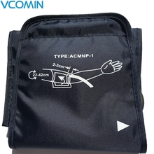 Vcomin 22-42 см Большой Взрослый манжета кровяного давления для рук монитор кровяного давления метр тонометр сфигмоманометр