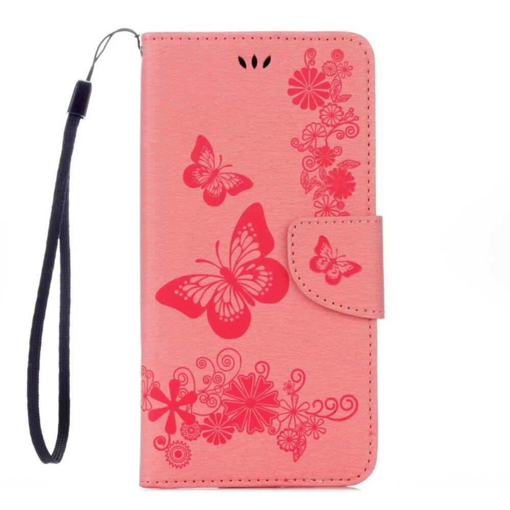 FULAIKATE Funda de cuero con relieve para iPhone6 6s Funda con - Accesorios y repuestos para celulares - foto 2