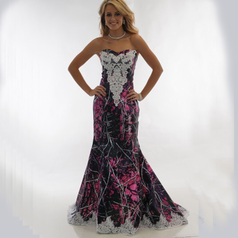 Popular camouflage wedding dresses buy cheap camouflage for Where to buy camo wedding dresses