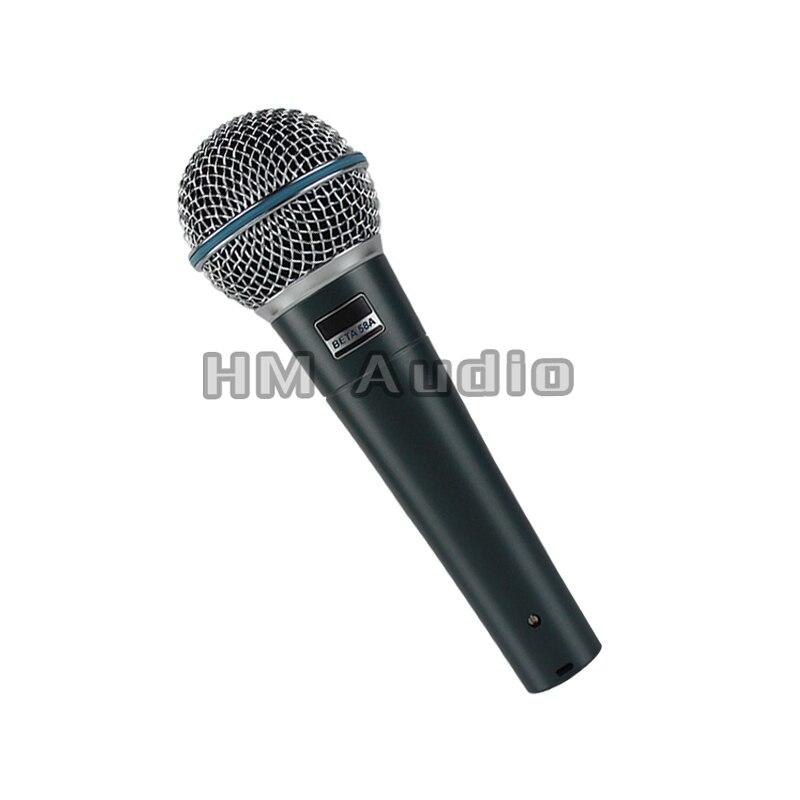 Freies Verschiffen! Super Qualität Version 58 Eine Gesang Karaoke Hand Dynamisches 58 Kabelmikrofon Microfone
