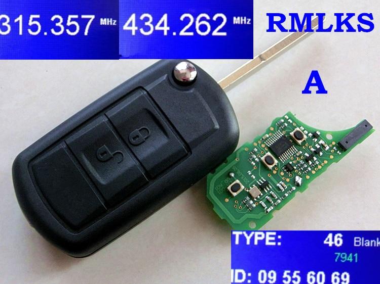 Honig Rmlks Neue Ersatz Flip Remote Key Fob Auto Für Land Rover Für Range Rover 7941 Chip 315 Mhz 433 Mhz Mit Uncut Hu101 Klinge
