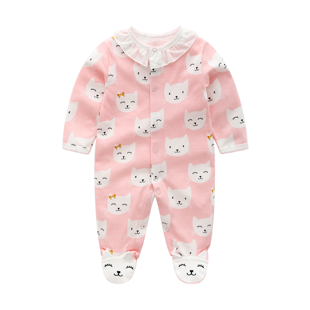 HTB1.bulEb1YBuNjSszhq6AUsFXaQ Newborn baby pajamas unicorn cotton romper boys clothes overalls romper infants bebes jumpsuit premature infant baby clothes