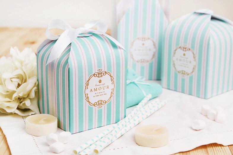 evento presente pastelaria embalagem caixas saco 8x8x8cm