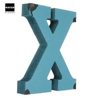 New Arrival Craft Alphabet Letter Plaque Sign Wood Letters Name Home Wedding Decor DIY 180x25mm Best