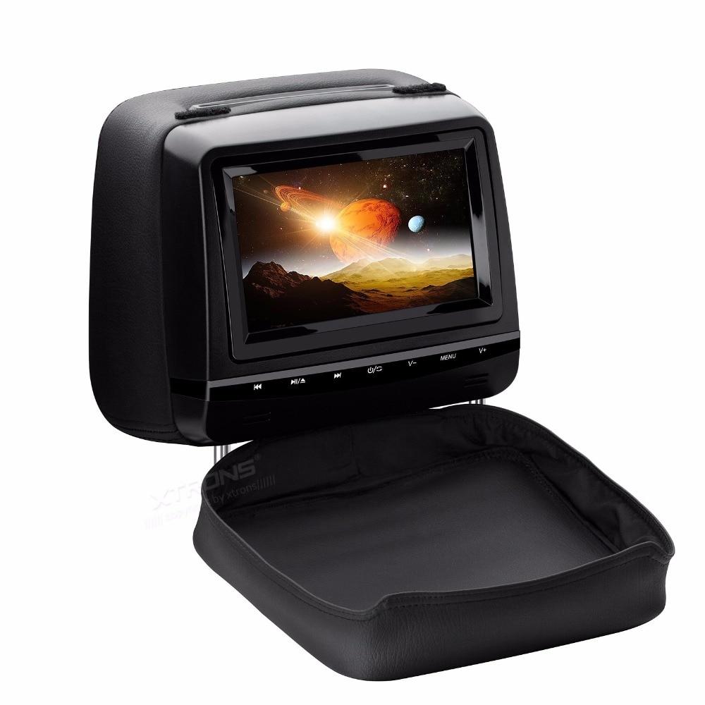 """2x7"""" Touch Panel Design Headrest Car DVD Car Headrest DVD"""