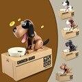 Новый Электронные Домашние Животные Игрушки Роботизированная Собака Денежный Ящик Money Bank Автоматический Украдены Монета Сохранение Box Подарки для детей