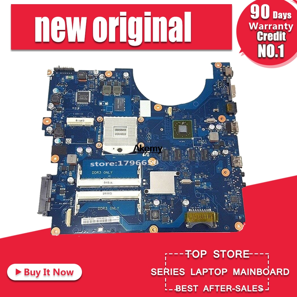 BREMEN2-L For Samsung R538 R540 R580 Laptop Motherboard BA41-01285A BA92-06626A BA92-06626B HM55 ATI HD 4500 DDR3