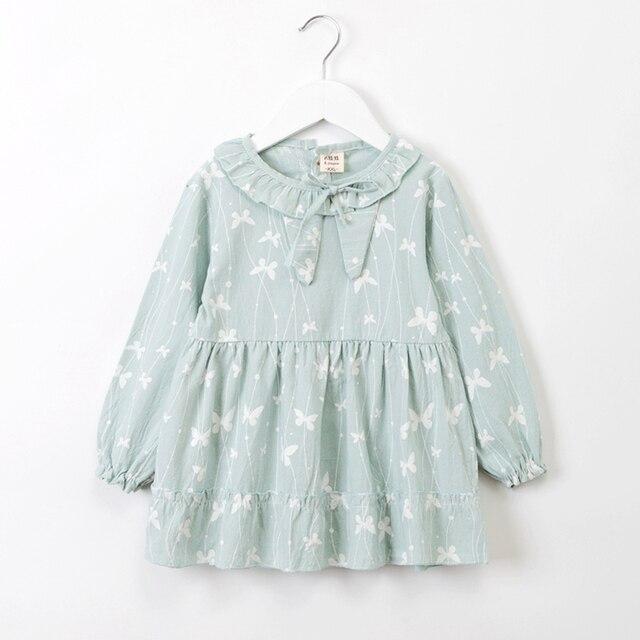 5bcf9cc71 baby autumn dress baby girl clothes autumn 2018 long sleeve birthday ...