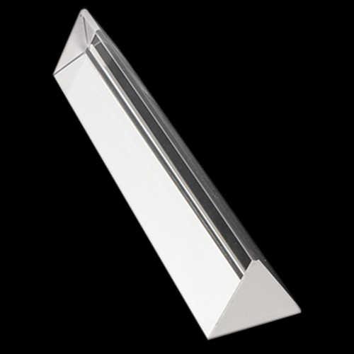 15 см x 3 см радуга оптическое стекло тройной треугольной призмы физика обучающий светильник спектр с подарочной коробкой