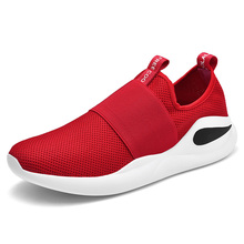2019 New Men Running Shoes Lightweight Slip On Men Shoes Mesh Comfortable Sports Shoes Male Sneakers Athletic Zapatos De Hombre new arrival mens running shoes masculino esportivo sneakers shoe for men cheap sports athletic shoes hard court lightweight mesh