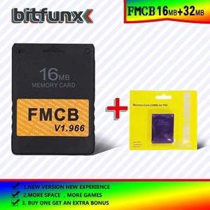 Image 4 - Bitfunx FMCB bezpłatna karta pamięci McBoot 16MB v1.966 w nowej wersji i nowa funkcja + 8/16/64/128MB kartonowe opakowanie pamięci