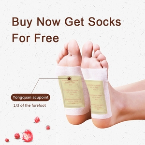 Image 3 - 200 Pieces Detox Foot Patch Improve Sleep Slimming Pads Anti Swelling Ginger Foot Patch Pads Weight Loss Patch Foot Care Tool