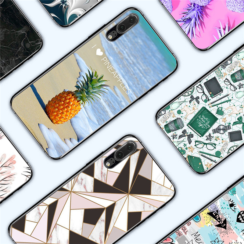 Fitted Cases Objective Eleteil Fruit Print Phone Cases For Huawei P20 Lite P20 Pro Pineapple Back Cover Shell Soft Case For Huawei P10 P10 Lite P20 E40 Beautiful In Colour Cellphones & Telecommunications