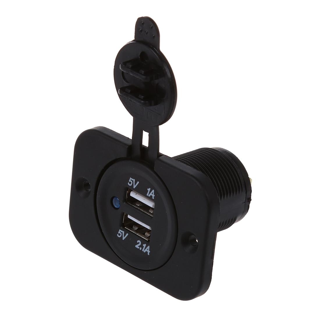 AUTO Adaptateur Prise 2 Ports USB Allume Cigare Chargeur 12V for Auto Voiture