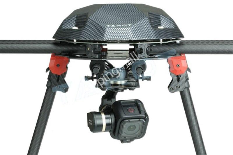 Tarot TL3T02 GOPRO T-3D IV 3 axes HERO4 SESSION caméra sans balai cardan PTZ pour FPV quadrirotor Drone Multicopter 50% de réduction - 5