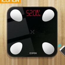 Горячие белые черные умные весы для ванной комнаты, бытовые весы для тела и жира mi, человеческий электронный пол B mi, весы для тела 5-180 кг