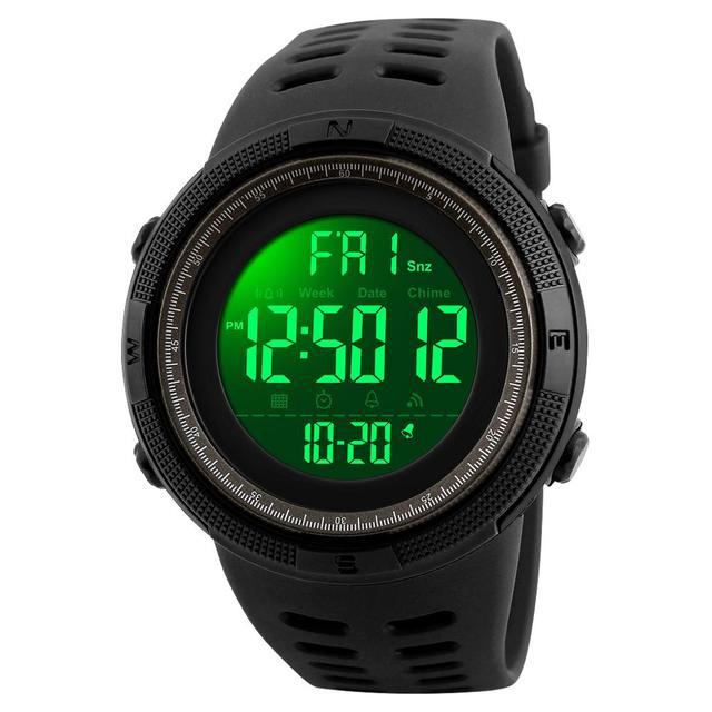 Esportes Dos Homens Relógios de Luxo Da Marca SKMEI Relógios Militares Para Homens Ao Ar Livre Relógio Eletrônico Digital Relógio Masculino Relogio masculino