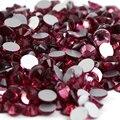 SS20 Розовый цвет 1440 шт. Номера Исправлениях Стразы 4.6 мм 20ss кристалл flatback Nail Art Стразы