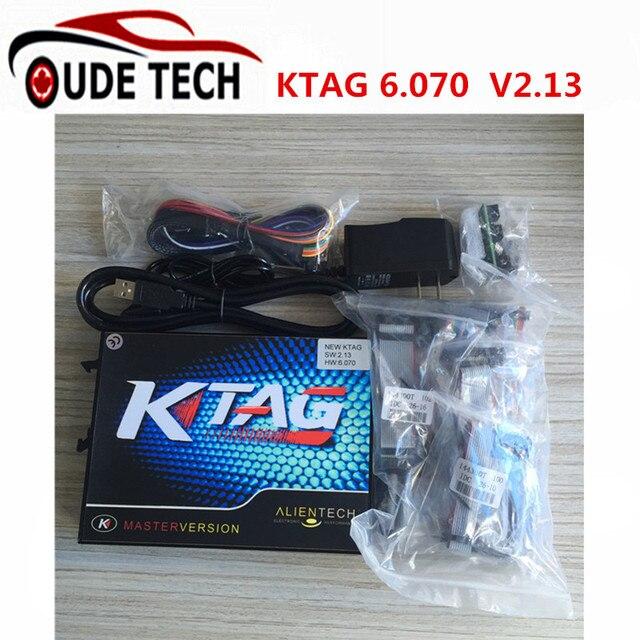 Best Quality KTAG 2.13 ECU Programming Tool Ktag V2.13 K tag FW6.070 K-TAG ECU Chip k-tag v2.13 k tag Fast Process