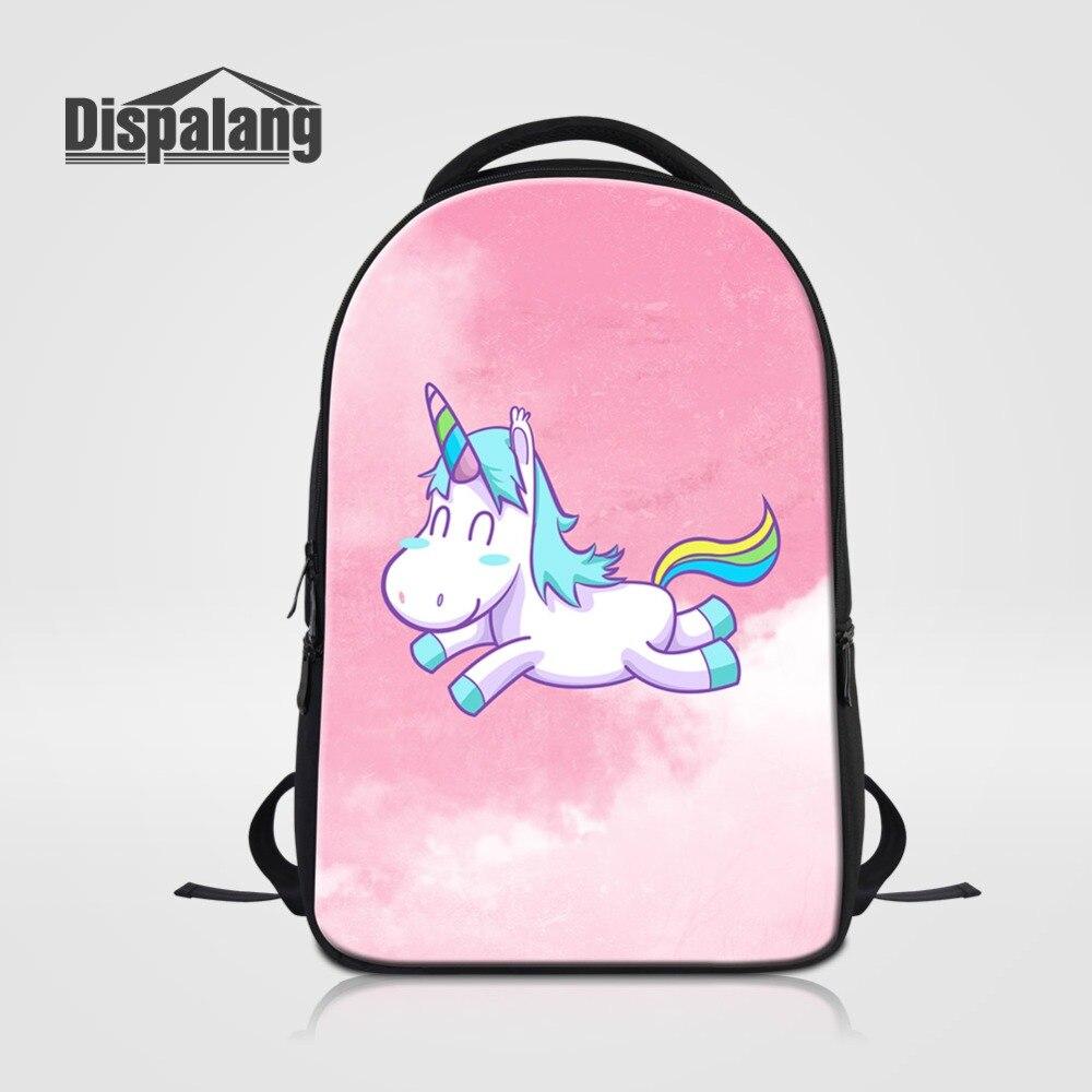 Sac à dos pour ordinateur portable pour femmes 14 pouces ordinateur portable sac à dos joli rose licorne sac d'école sac à dos pour adolescentes sac à dos