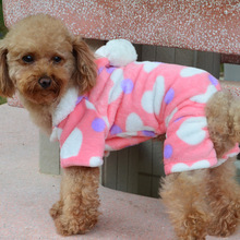 цена на Manufacturers wholesale pet dog clothes pet clothes sell like hot cakes a pullover - pink hearts dog clothes
