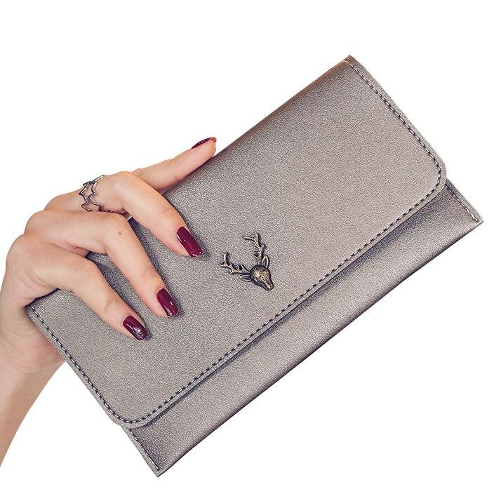 Clutch Wallets Lady Purses PU Leather Los