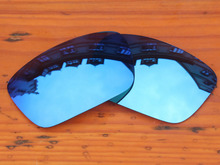 Ice Blue Mirror Polarized Replacement Lenses For Fuel Cell Sunglasses Frame 100% UVA & UVB Protection