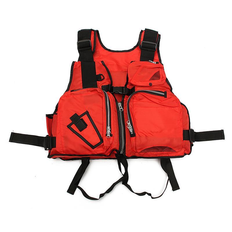 Nylon Adult Aid Sailing Swimming Fishing Boating Kayak Life Jacket Vest Safety Clothing Drop Shipping