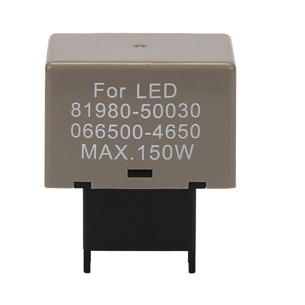 8 Pin Electronic LED Flasher Relay Fix Turn Signal Light Fast Flash for Le-xus for To-yota TJ