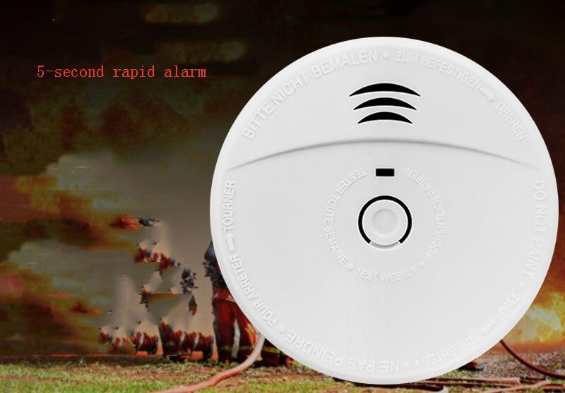 Smoke Alarm Fire Smoke Detector Household Independent Wireless Smoke Detector