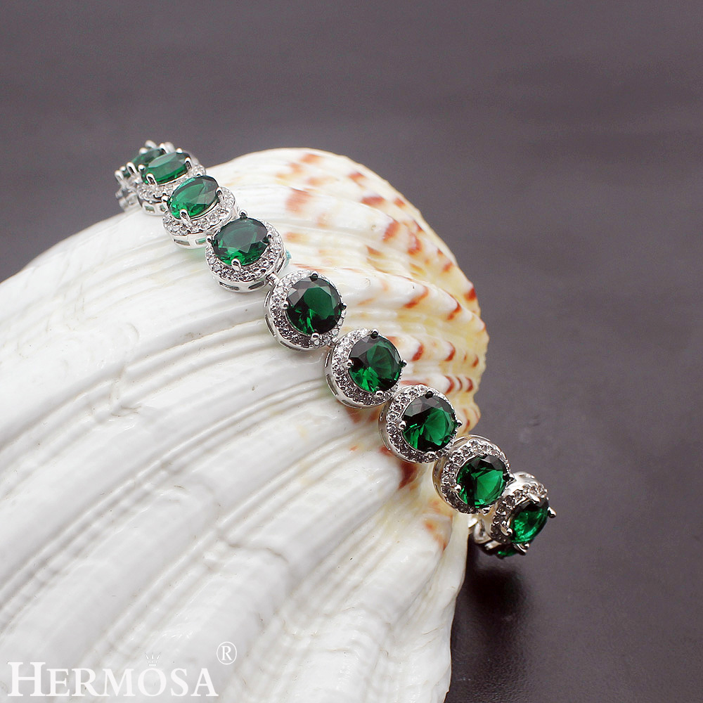 Expensive Charm Bracelets: Hermosa Jewelry Expensive Sparkling 925 Sterling Silver