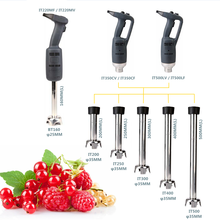 ITOP High Speed Commercial Immersion Blender Food Mixer Fruit Juice Jam Processors 220W/350W/500W Stainless Steel Blade