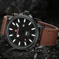 2017 New Luxury Brand NAVIFORCE Hombres Del Ejército Militar Deportes Relojes de Los Hombres Reloj de Cuarzo Hombre Luminoso Reloj de Pulsera Relogio masculino