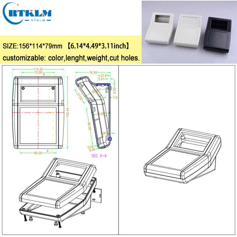 Nhựa ABS kèm hộp đựng dụng cụ DIY hộp nối tùy chỉnh điện tử hộp kèm tự làm nhạc cụ 156*114*79mm 1