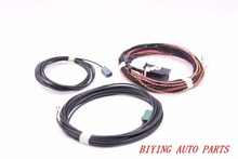 FOR Vw Touareg 7P6 High Line Rear Camera KIT Guidance Install harness Wire Cable 7P6907441A