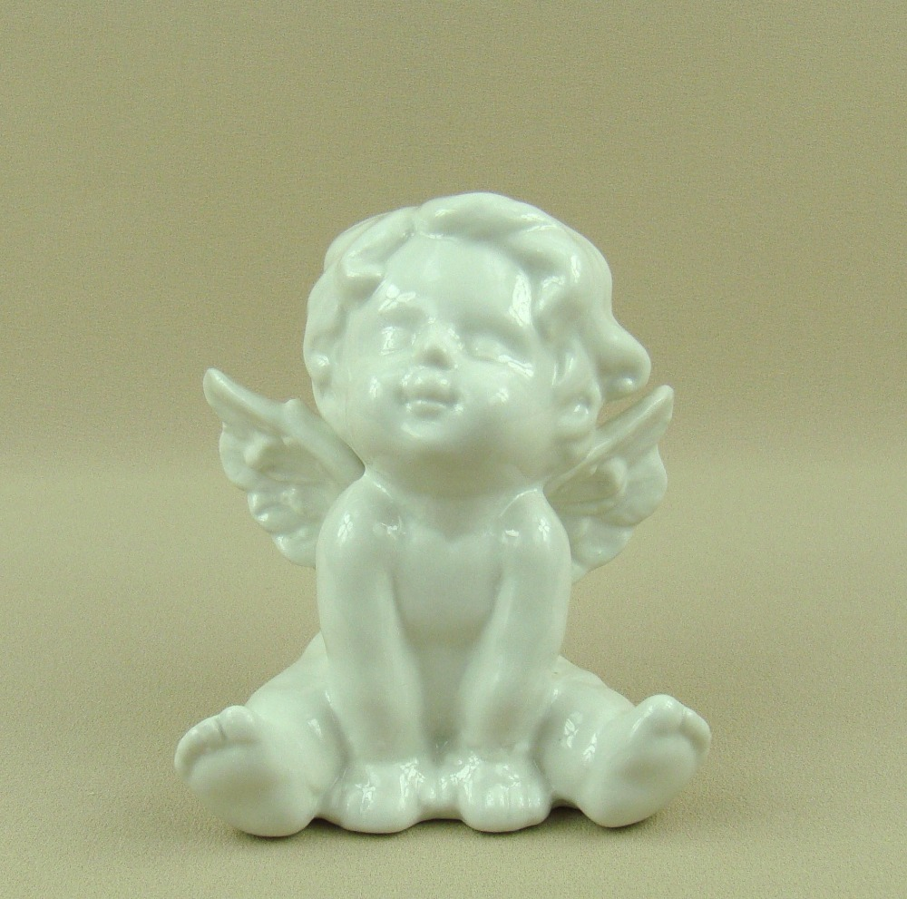 lovely porcelain angel baby figurine decorative ceramics doll