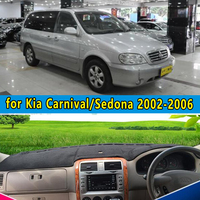car dashmats car styling accessories dashboard cover for KIA Grand Carnival R Sedona 2002 2003 2004 2005 2006 rhd