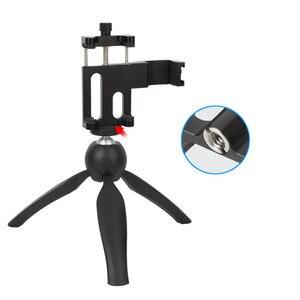 Image 4 - עבור אוסמו כיס צג מיקרופון רב פונקציה קבוע מחזיק טלפון נייד הר סוגר Gimbal מצלמה אביזרי התרחבות