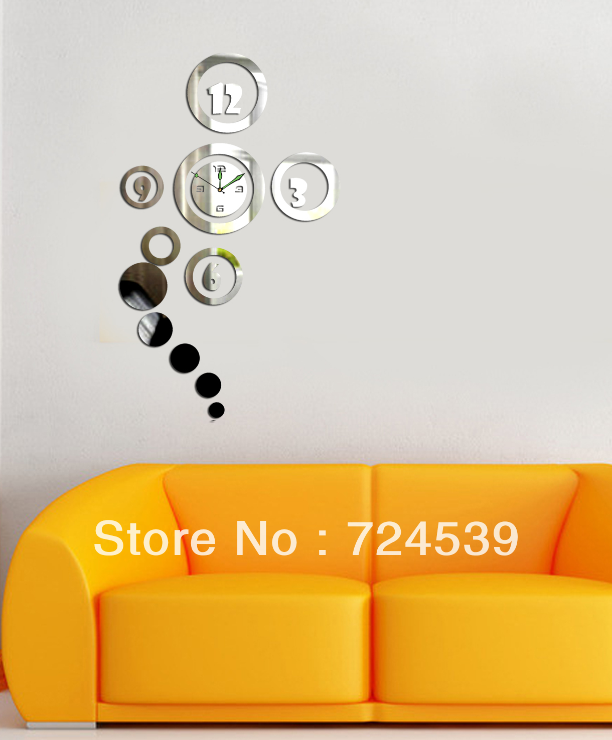 Free shipping 3d best home decoration mirror wall clock wall free shipping 3d best home decoration mirror wall clock wall stickers wallpaperdiy clockunique gift free shipping in wall clocks from home garden on amipublicfo Gallery