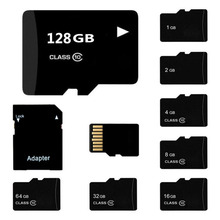J-boxing 5PCS Micro SD Card 8G 16G 32G Flash Memory 64GB 128GB TF Class 10 for Smartphone/Tablet PC/GPS/Camera/MP4