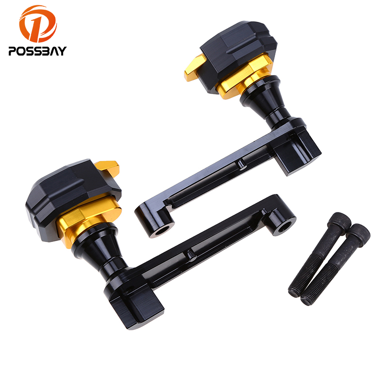 POSSBAY Motorcycle Frame <font><b>Slider</b></font> Anti Crash Pad Protectors Cafe Racer <font><b>Slider</b></font> <font><b>Para</b></font> <font><b>Moto</b></font> MTB For Honda CBR1000 2008-2016 image