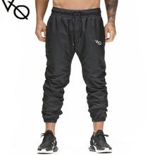 Brand Men Joggers Casual Pants Fitness Men Sportswear Tracksuit Bottoms Skinny Sweatpants Trousers Black Gyms Jogger