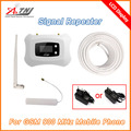 Full Intelligent Mini smart 900mhz 2G repeater GSM cell phone signal amplifier 2G cellular signal booster GSM repeater with LCD
