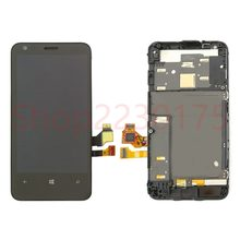 For Nokia Lumia 620 RM-846 LCD Display Touch Screen Digitizer Assembly Frame Replacement Parts(China)
