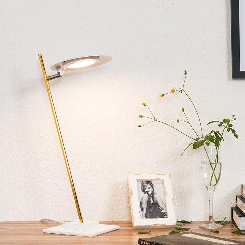 Скандинавский постмодерн, креативная прикроватная Светодиодная настольная лампа для спальни, арт бар, настольная лампа для работы, освещен