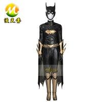Batman Arkham Knight Batgirl Cosplay Costume Batgirl Jumpsuit For Women Batman Adult Halloween Costumes fancy Superhero outfit