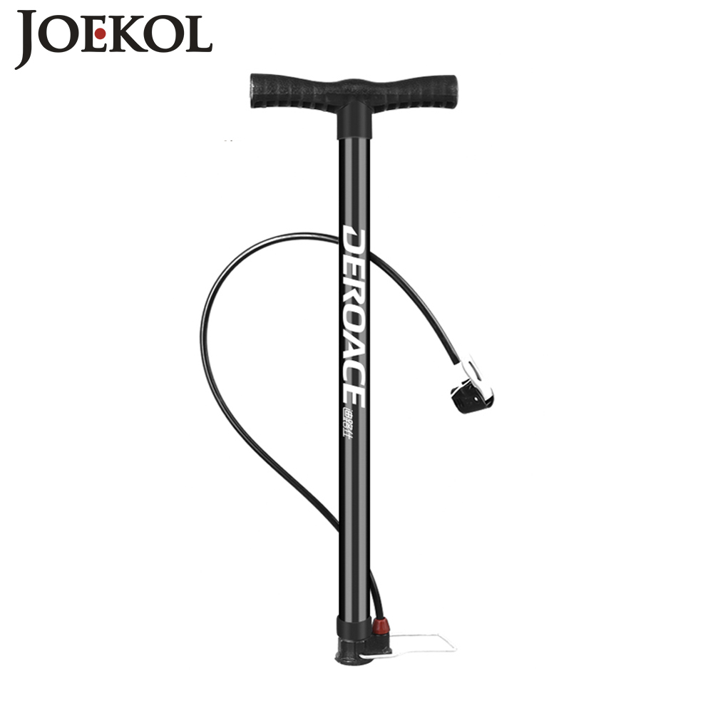 MTB High Pressure Bicycle Air Pump,Mini Inflator Bike Hand Pump With Pressure Gauge For Tire Bicycle/car/ball,cycle Accessoire portable dual valves bicycle bike air pump w pressure gauge black silver