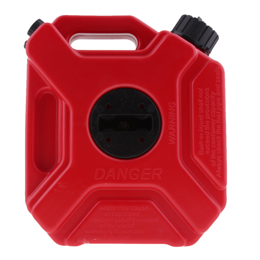 3L essence gaz essence Portable peut ATV UTV voiture moto Scooter haute ténacité matière plastique huile et Anti-Corrosion