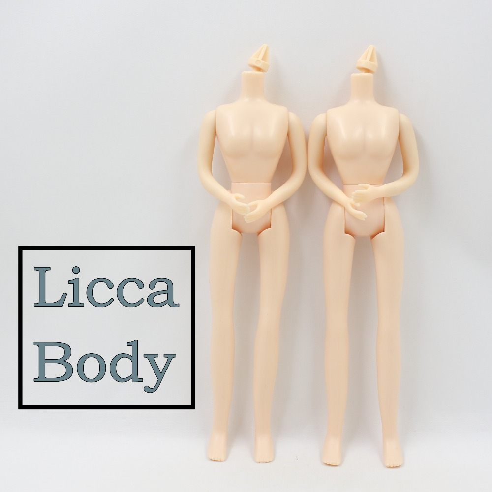 free shipping Fortune Day licca body for blyth doll icy about 20cm natural skin toy gift цена