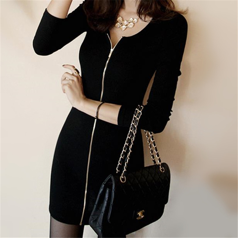 Popular Basic Black Dress-Buy Cheap Basic Black Dress lots from ...